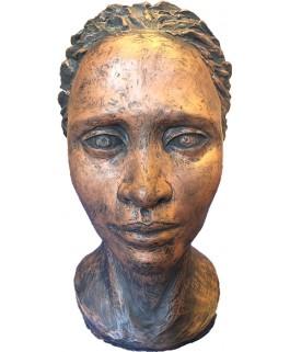 Africaine Tête